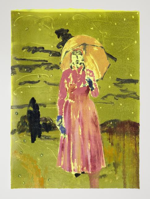 , 'The Rain (pink),' 2018, Night Gallery