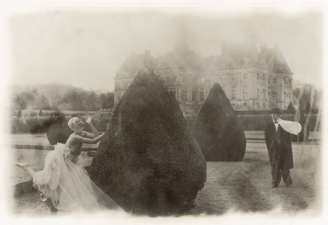 , 'Rosima in Comme des Garçons at Vaux le Vicomte, for Parco, France,' 1985, Staley-Wise Gallery