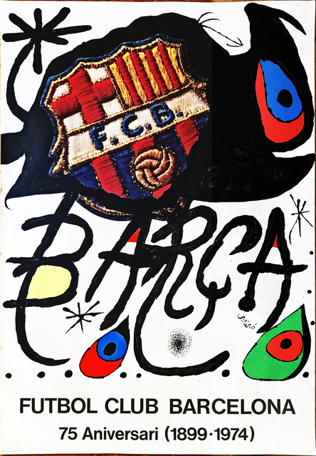 , 'Poster for the 75th Anniversary of the Barcelona Football Club,' 1974, Fairhead Fine Art Limited