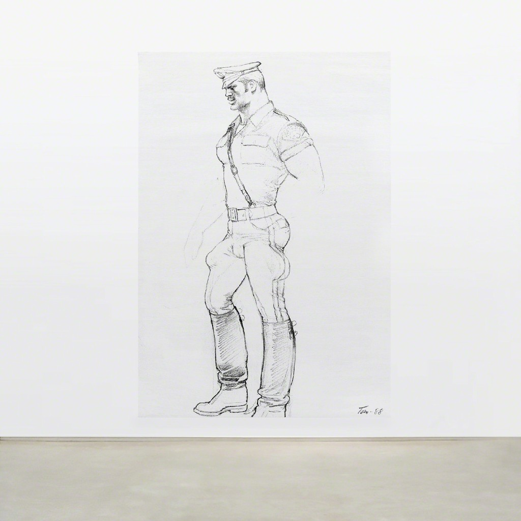 TOM OF FINLAND, Untitled (in situ), 1988