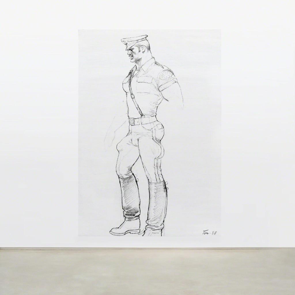 TOM OF FINLAND, Untitled (in situ), 1988