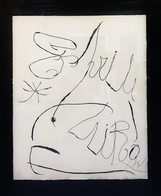 Joan Miró, 'Espriu', 1971, Blanca Soto Arte