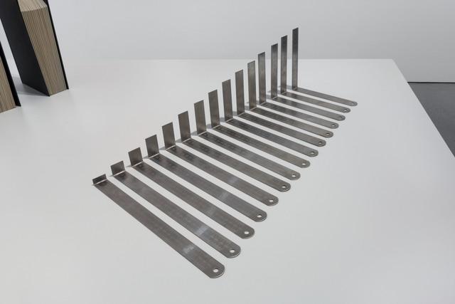 , '15 rulers,' 2015, Carroll / Fletcher
