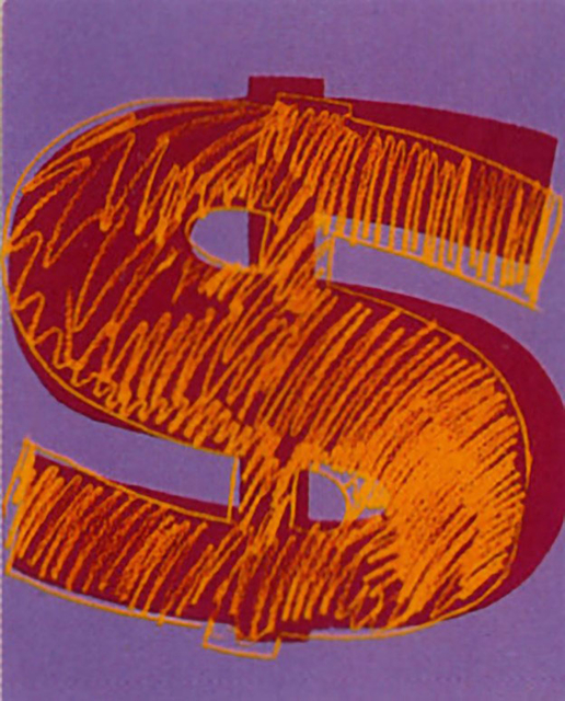 Andy Warhol, 'Dollar Sign (FS II.280)', 1982, Revolver Gallery