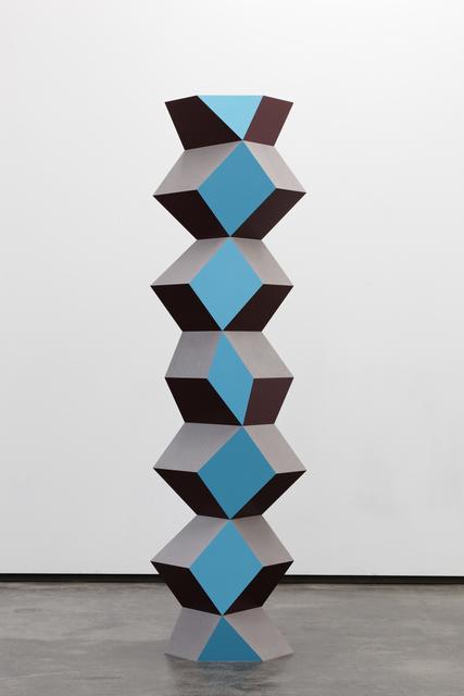 , 'Bent Column: Large,' 2016, Galerie Eva Presenhuber