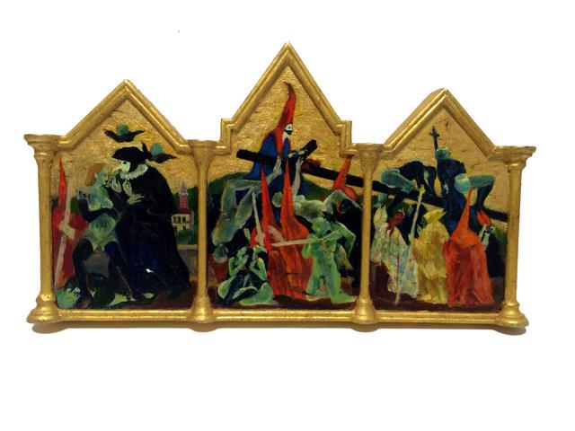 , 'Semana Santa/Cross Torture,' 2001, Catharine Clark Gallery