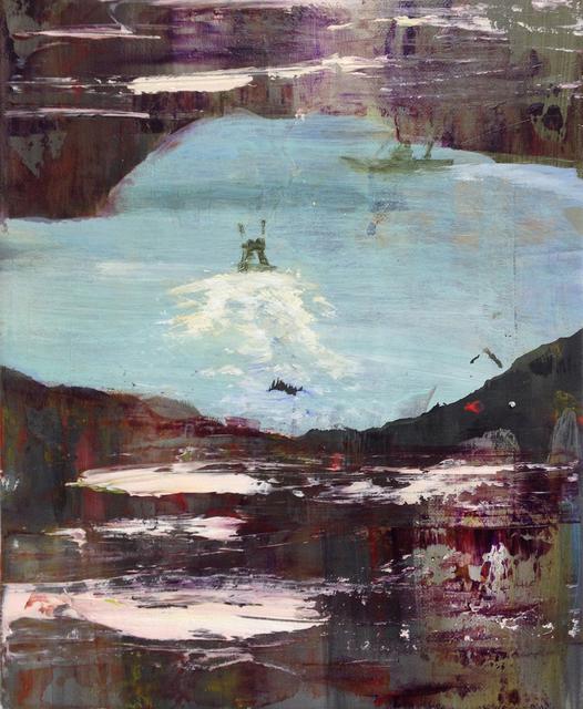 Judith Simonian, 'Fishing with John', 2017, FRED.GIAMPIETRO Gallery