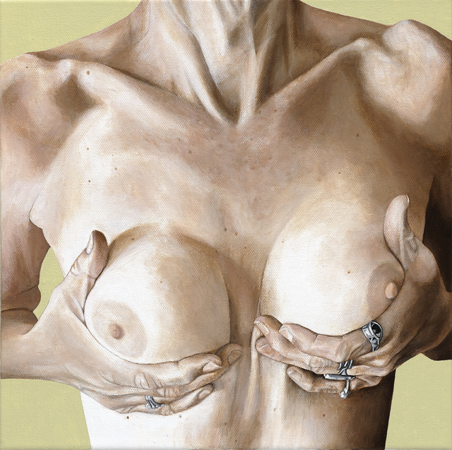, 'Breast Portrait #12,' 2013, Catharine Clark Gallery