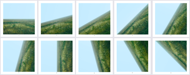 , 'Land 0° - 135°,' 2009, Alan Cristea Gallery