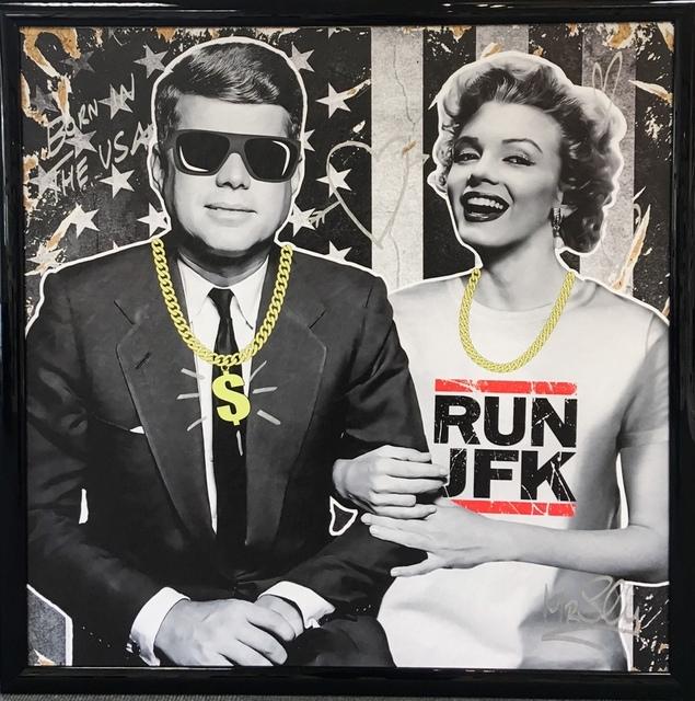 , 'Run JFK,' 2017, 9 Strokes Gallery