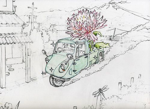 , 'Chrysanthemum Delivery,' 2009, Seraphin Gallery