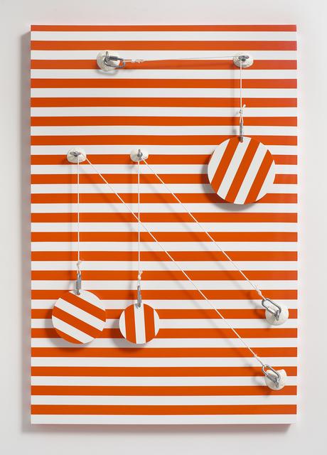 , 'Orange_Stripes,' 2016, Steve Turner
