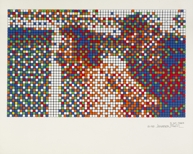 Invader, 'Rubik Scream II', 2007, Julien's Auctions