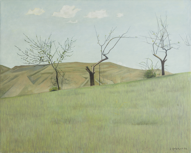 ", 'Three Trees, ""Morning"",' 1999, Tufenkian Fine Arts"