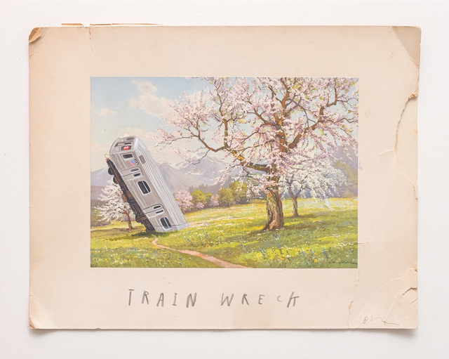 , 'Train wreck,' 2016, Marc Azoulay