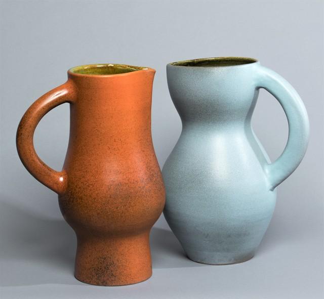 , 'Two Jug Vases,' ca. 1950, Lebreton