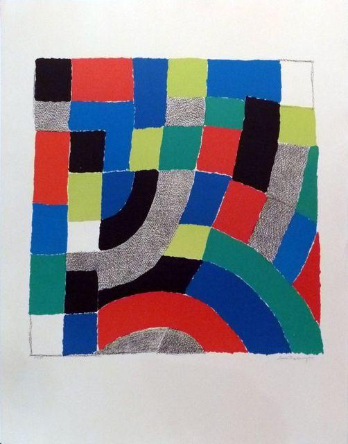 Sonia Delaunay, 'No title ', 1974, Le Coin des Arts