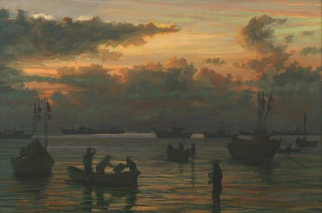 , 'Getting Ready for a Fishing Trip, Vietnam,' ca. 2007, Tanya Baxter Contemporary