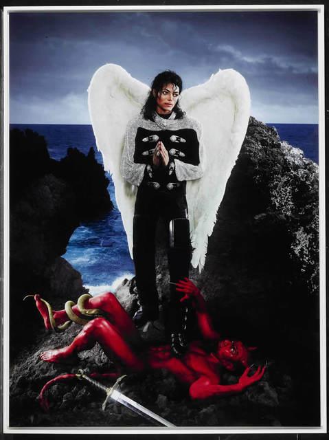 David LaChapelle, 'American Jesus: Archangel Michael Jackson ', 2009, Denis Bloch Fine Art