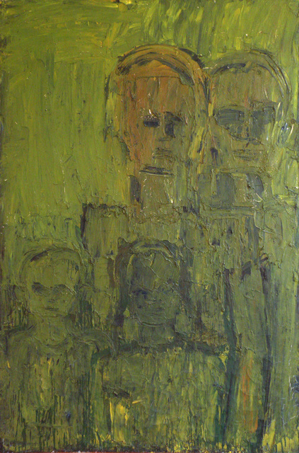 , 'Green Family,' ca. 1962, David Klein Gallery