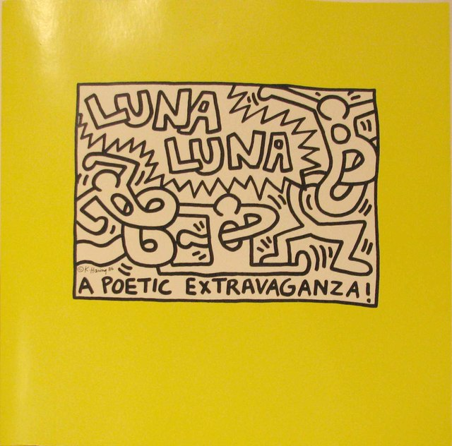 Keith Haring, 'Luna Luna Karussell: A Poetic Extravaganza!', 1986, Print, Offset Lithograph, DTR Modern Galleries