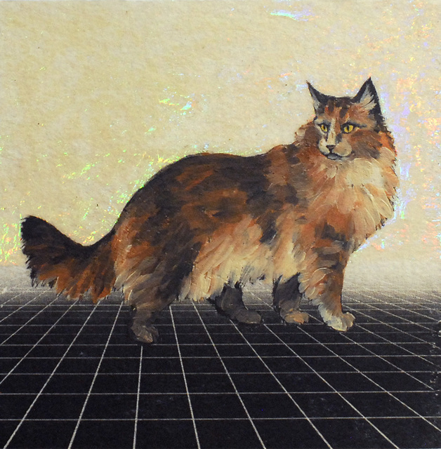 Alexis Kandra, 'Regal Cat', 2019, Deep Space Gallery