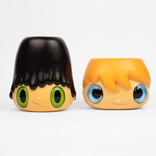 Javier Calleja, 'POT-POP-TOP (Set of 2)', 2020, Sculpture, Ceramic, Rite Gallery
