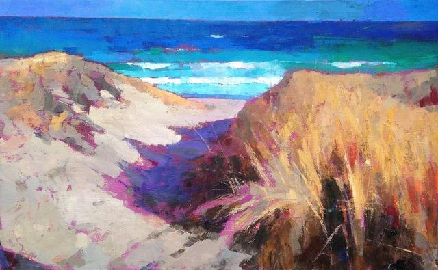, 'Path to the Beach,' 2017, Eisenhauer Gallery
