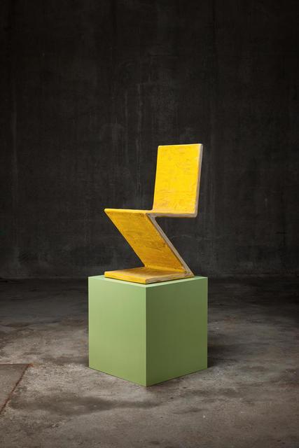 , 'Zig Zag,' 2015, Almine Rech Gallery