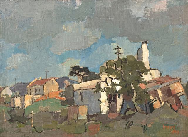Gregoire Johannes Boonzaier, 'Wit Huisie, Napier', 1959, Strauss & Co