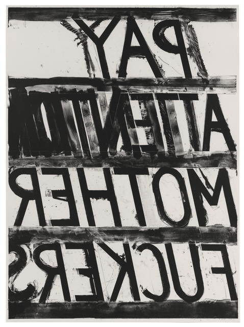 , 'Pay Attention,' 1973, Susan Sheehan Gallery