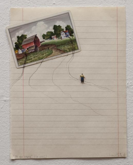 """, '""""To Go There (Ir Alla)"""",' 2017, Luciana Brito Galeria"""