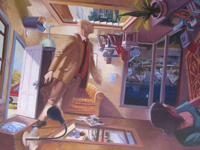 Robert Birmelin, 'Suburb (Reversible)', 2002, Painting, Acrylic on canvas, Stanek Gallery