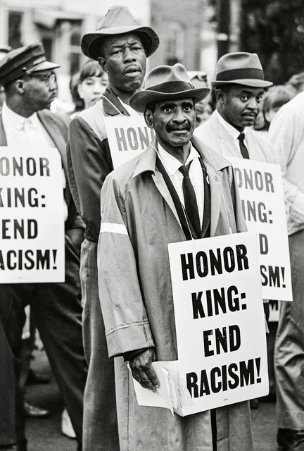 , 'Honor King: End Racism, Memphis,' 1968, Fahey/Klein Gallery