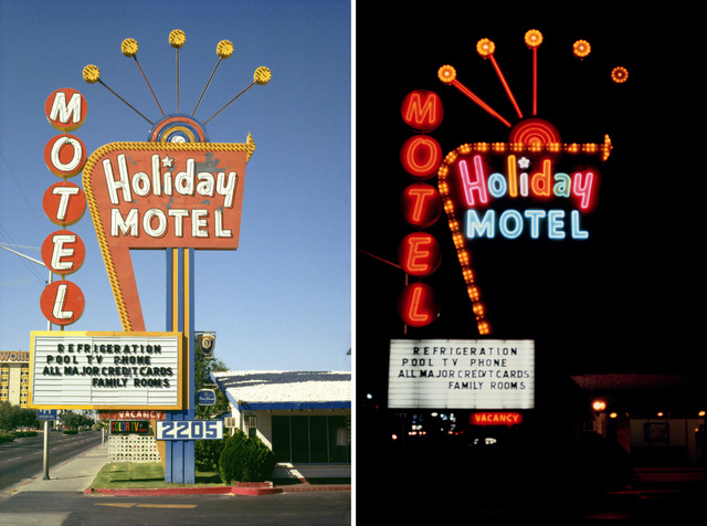 , 'Holiday Motel, Las Vegas, Nevada,' 1979, Nederlands Fotomuseum