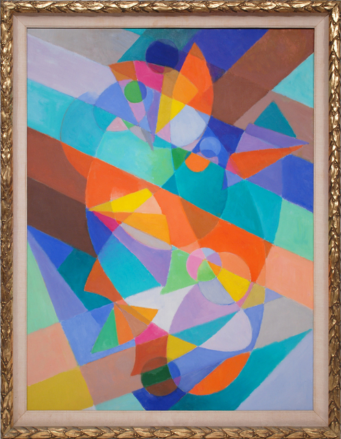 Stanton MacDonald-Wright, 'Beethoven Series: Symphonic Form', 1973, Painting, Oil on board, Peyton Wright Gallery