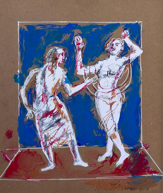 , 'Dal dialogo conil cardinal Cornaro: elogio alla donnadesnuda che danza,' 2010, DIE GALERIE