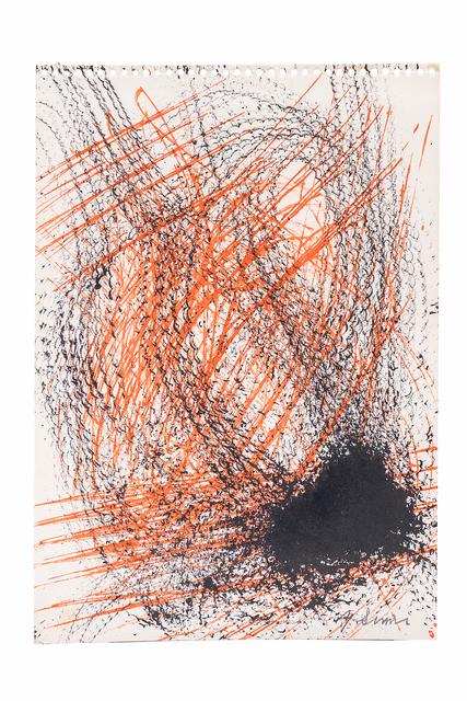 , 'Early Gutai Work Sketch,' 1957, PARKVIEW ART Hong Kong
