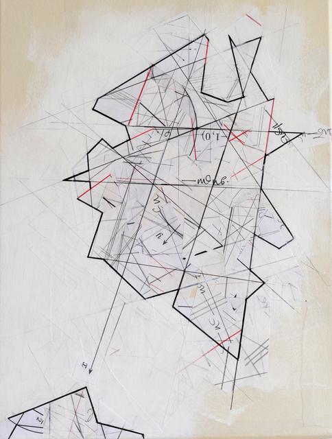 , 'Mapping Infinity, Chart #4,' 2017, Gallery Elena Shchukina