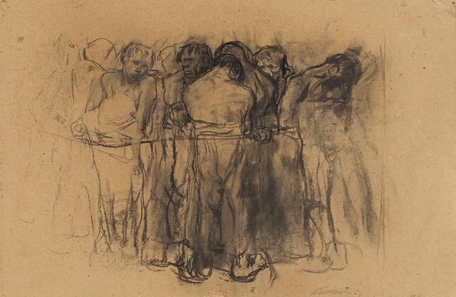 , 'The Prisoners,' 1908, Galerie St. Etienne