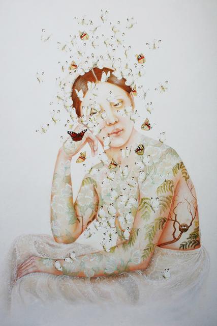 Corinne Boureau, 'Lumière pappillon (Butterfly light)', 2018, Art Center Horus