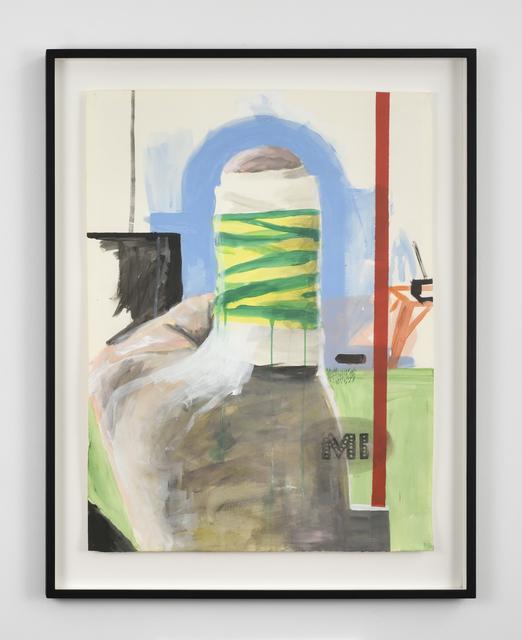 , 'Ml plas,' 2012, Galerie Thomas Bernard