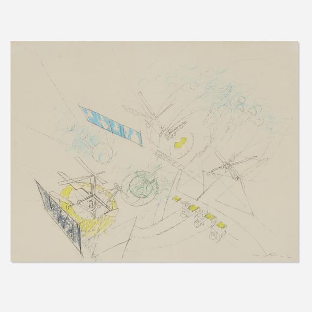 Roberto Matta, 'Untitled (Study for Painting)', 1960, Wright