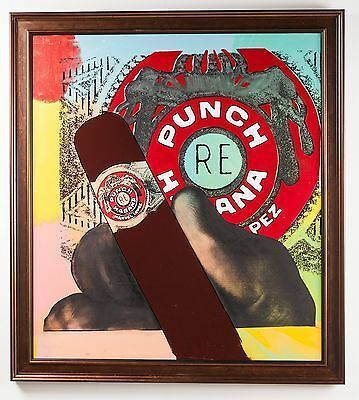 Steve Kaufman, 'Punch Habana', 1995, Modern Artifact