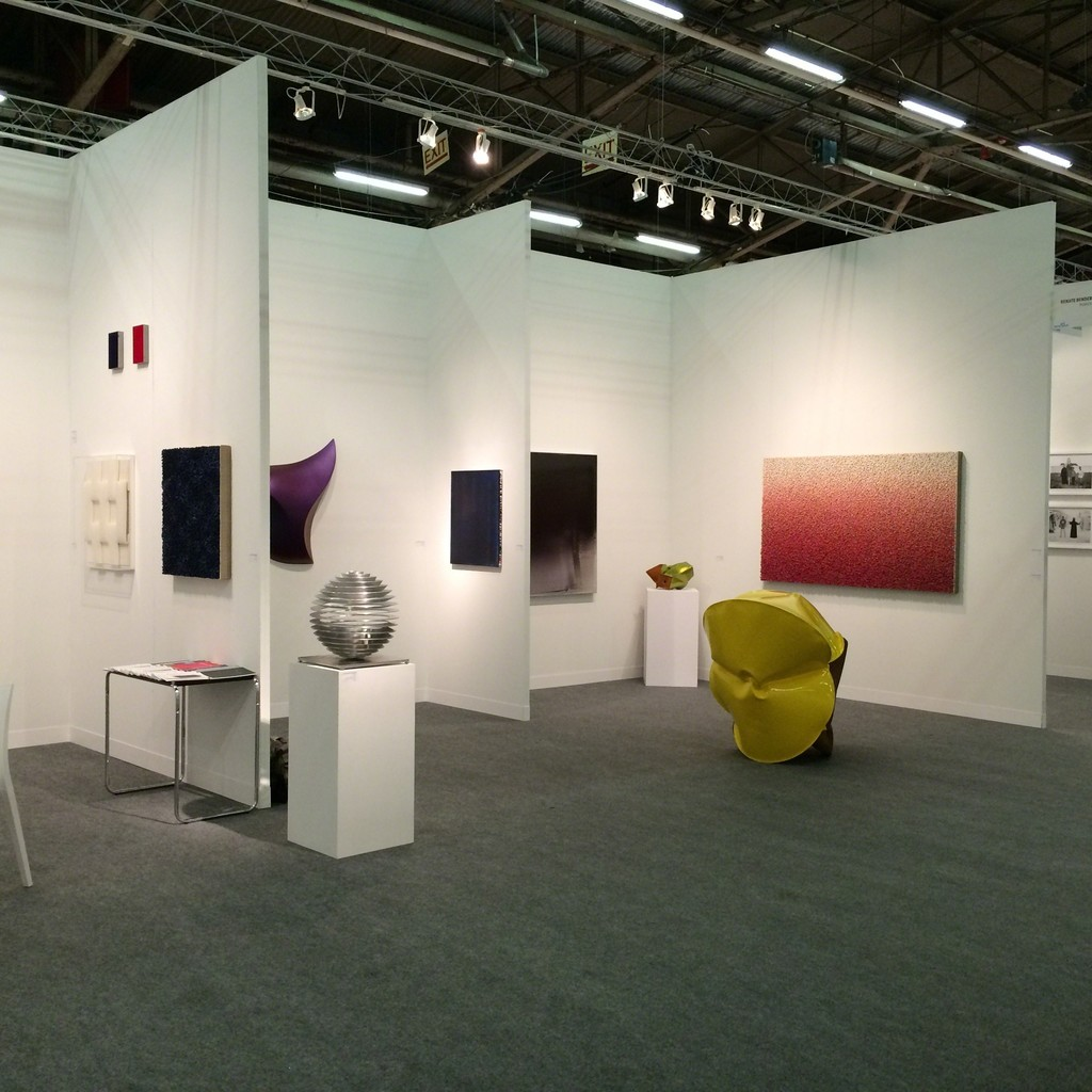 Installation view Galerie Renate Bender, booth B205
