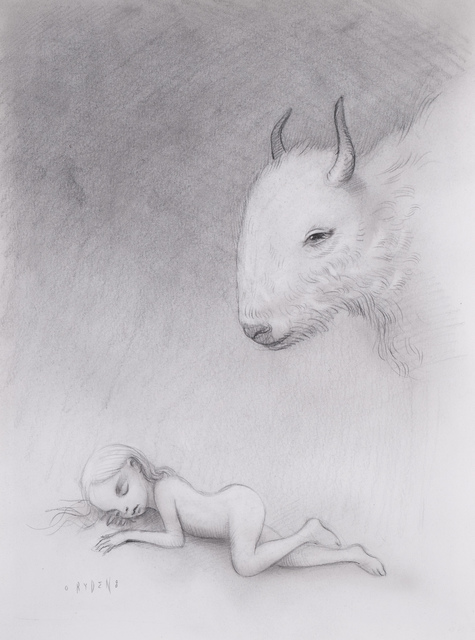 Mark Ryden, 'Yak Dream', 2008, Drawing, Collage or other Work on Paper, Drawing, Jaski