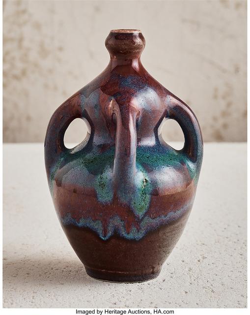 Ernest Chaplet, 'Handled Vase', circa 1890, Heritage Auctions