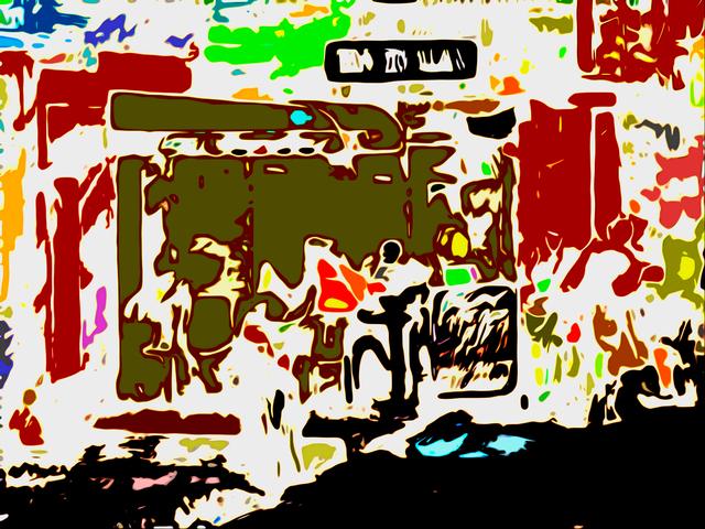 , 'Bar do Alan,' 2018, Galeria Tina Zappoli