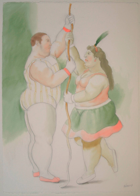 , 'Circus Act,' 2007, Opera Gallery