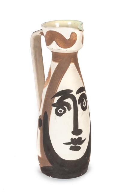 Pablo Picasso, 'Visage', 1955, Hindman